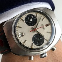 Heuer Serviced Wonderful Vintage Heuer Chronograph with Panda...