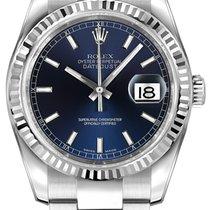 勞力士 (Rolex) Datejust 36mm Stainless Steel 116234 Blue Index...