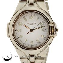 Patek Philippe 5091 Sculpture Gents W/date Stainless Steel Box...