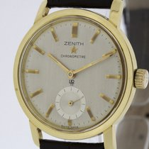 Zenith Chronometer from 1962 solid 18K Gold Watch  Cal. 40T...