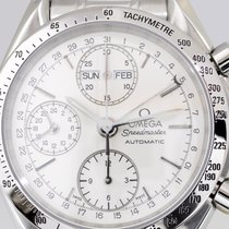 Omega Speedmaster Triple Date Chronograph Day-Date Steel Top