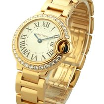 Cartier WE9002Z3 Ballon Bleu in Rose Gold with Diamond Bezel -...