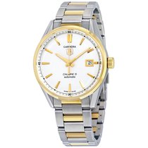 TAG Heuer Carrera Calibre 5 Automatic Silver Dial Watch...