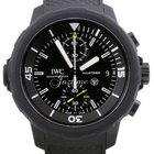 IWC Aquatimer Galapagos Islands IW379502 Black Rubber Stainles...