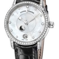 Ulysse Nardin Classico Lady Luna White Mother of Pearl Dial...