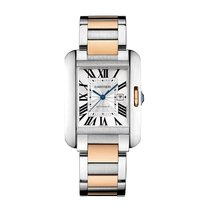Cartier Tank Anglaise Automatic Date Mid-Size watch W5310007