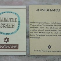 Junghans vintage warranty  and booklets rare newoldstock