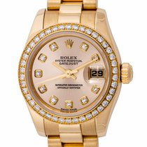Rolex - Ladies Datejust President : 179138 light champagne...