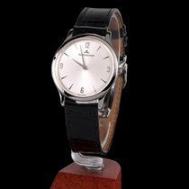 Jaeger-LeCoultre master control steel ultra thin  manual winding