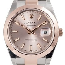 Rolex Datejust II 41 Steel and Everose Gold Oyster 126301