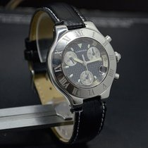 Cartier MUST 21 CHRONOSCAPH DATE CHRONOGRAPH QUARTZ SWISS...