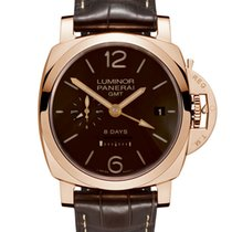 Panerai Luminor 1950 18k Rose Gold Men's Watch
