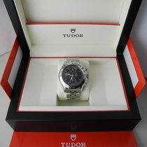 Tudor Chronautic steel with box