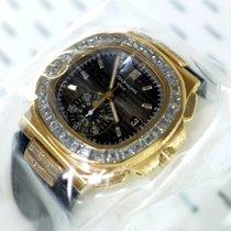 Patek Philippe Nautilus Rose Gold Baguette Diamonds Sealed...