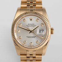"Rolex Datejust Yellow Gold 36mm ""Rolex Service"""