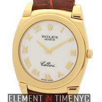 Rolex Cellini Cestello 18k Yellow Gold 36mm K Serial