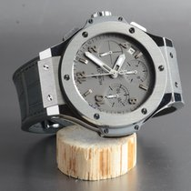 Hublot Big Bang Steel Chronograph Earl Grey B&P