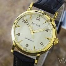 Bulova L6 Luxury Dress Stainless Steel Selfwinding 60s Mens...