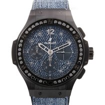 Hublot Big Bang 41 Jeans Black Diamond L.E.