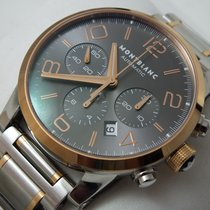 Montblanc TimeWalker Chronograph Automatic 43mm Steel -Gold ...
