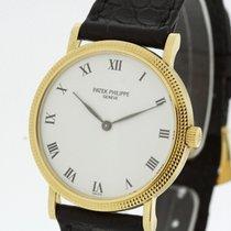Patek Philippe Calatrava solid 18K Yellow Gold Men's Watch...