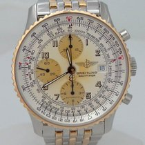 Breitling Navitimer 18k Yellow Gold Stainless Steel Automatic...