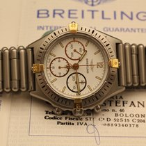 Breitling callisto chronograph lemania with rolleaux bracelet...
