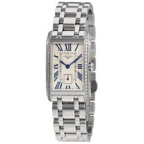 Longines Dolce Vita Silver Textured Dial Ladies Watch