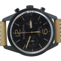 Bell & Ross Br126 Vintage Heritage Men's Automatic Pvd...