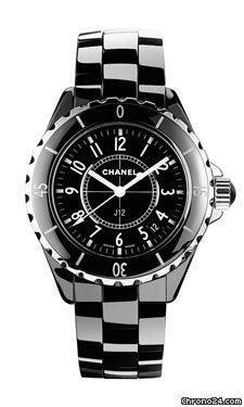 Chanel J12 Black Ceramic 33mm Quartz