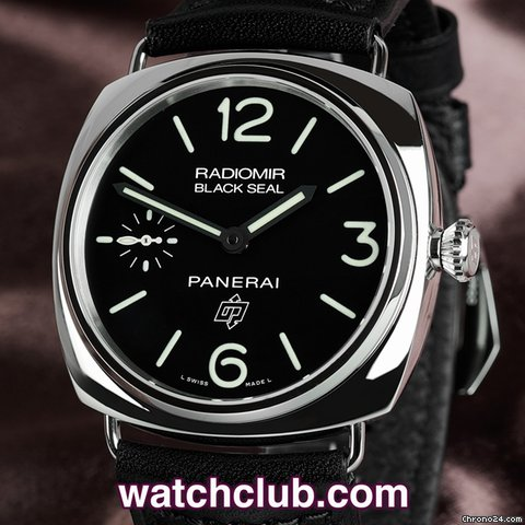 Panerai Radiomir Black Seal Logo Dial