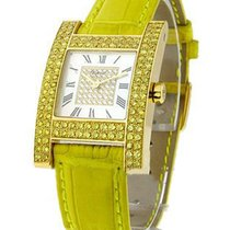 Chopard 13/6818-45 H-Watch in Yellow Gold Diamond Case - on...