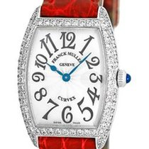 "Franck Muller Lady's 18K White Gold  Diamond ""Cintree..."