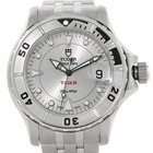 Tudor Prince Date Hydronaut Tiger Silver Dial Steel Watch 89190