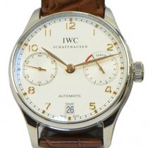IWC New IWC Portuguese 7 Day Power Reserve Gold Automatic...