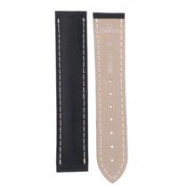 Omega Black Rubber Strap 20-18mm