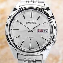 Seiko 5 Actus Mens Rare Automatic 1970s 21 Jewels Stainless...