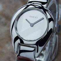 Gucci 6700l Swiss Made Ladies Quartz Stainless Steel Luxury...