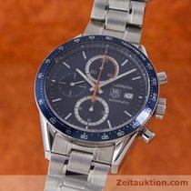 TAG Heuer Carrera Chronograph Automatik Herrenuhr Stahl Cv2015