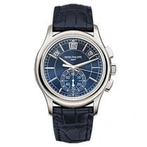 Patek Philippe Complications Blue Dial Annual Calendar...