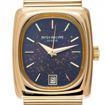 Patek Philippe Beta 21 18kt Gelbgold 187g Quarz Armband 18kt...