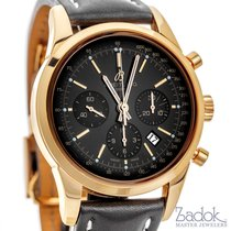 Breitling Transocean Chronograph 18k Rose Gold 43mm Men's...