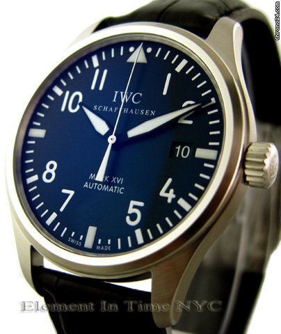 IWC Pilot Mark XVI IW3255-01