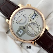 A. Lange & Söhne Zeitwerk Regulator Rose Gold Silver Dial