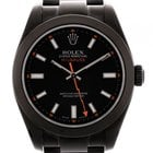 Rolex Oyster Perpetual Milgauss Black Edition JRH Stahl DLC...