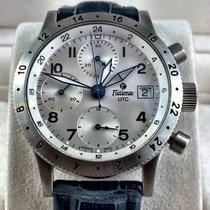 Tutima FX Chronograph UTC Stainless steel case