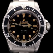勞力士 (Rolex) Submariner ref 5512 Gilt Brown Dial Silver Depth