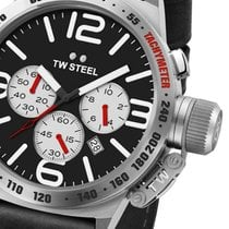 TW Steel CS8 Canteen Leather Chronograph 50mm 10ATM