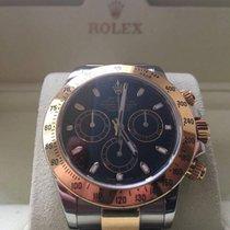Rolex cosmograph daytona 116523 gold steel or acier full set
