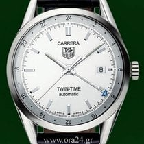 TAG Heuer Carrera Twin  Time Automatic GMT Box&Papers